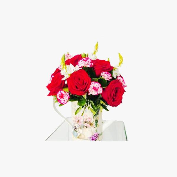 Arreglo de Rosas Rojas en Regadera
