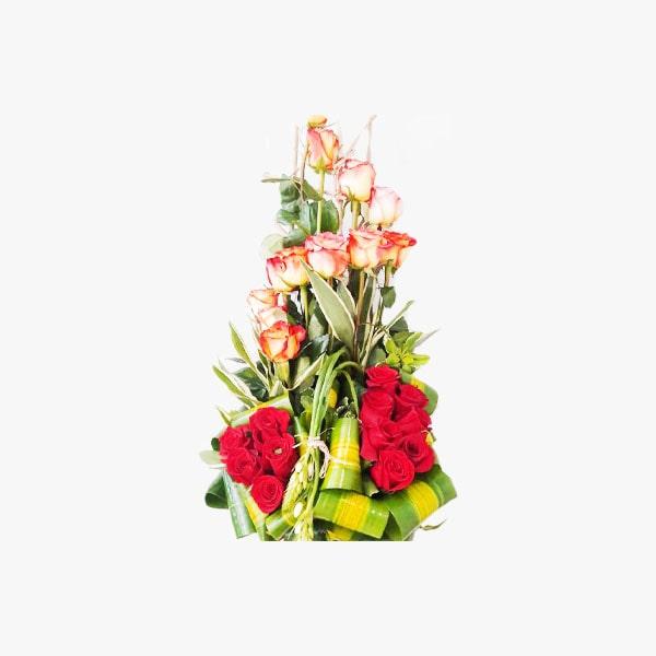 Arreglo de 2 docenas de Rosas