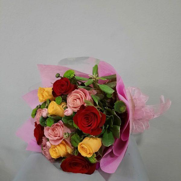Bouquet de Rosas de Colores