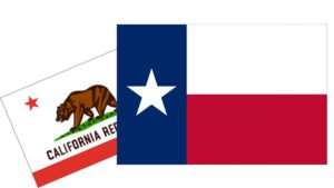 Moving to Texas from California